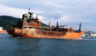 """Kerch'te Yaşanan Kazada Yanan Tankerlerden Biri Olan """"Maestro"""" İstanbul'da Tutuklandı."""