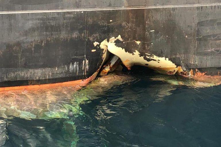 Fujairah Limanında Torpido Saldırısı