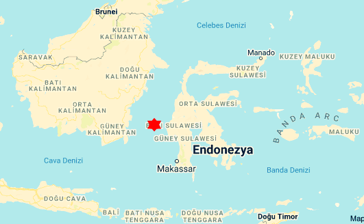 haberler, gundem - Sulawesi adası gemi kazası - Endonezya'da Yük Gemisi Alabora Oldu 17 Personel Kayıp