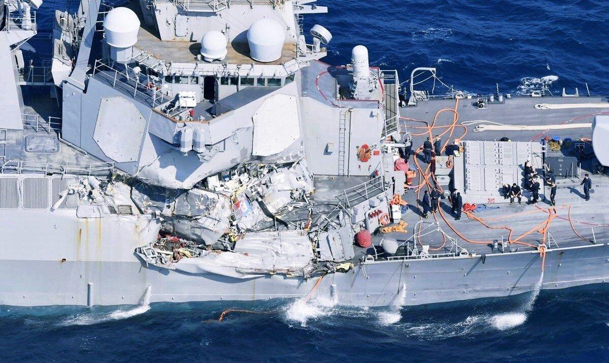 haberler, gundem - USS Fitzgerald Accident - ABD Savaş Gemilerindeki Dokunmatik Ekranları Kaldırıyor