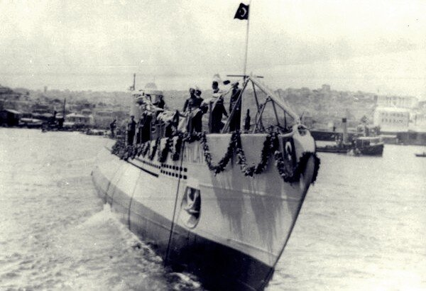 etkinlikler, deniz-kultur - TCG Atılay denizaltısı - Türkiye Cumhuriyeti'nin İlk Denizaltıları