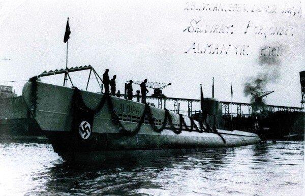 etkinlikler, deniz-kultur - TCG Saldıray Denizaltısı - Türkiye Cumhuriyeti'nin İlk Denizaltıları