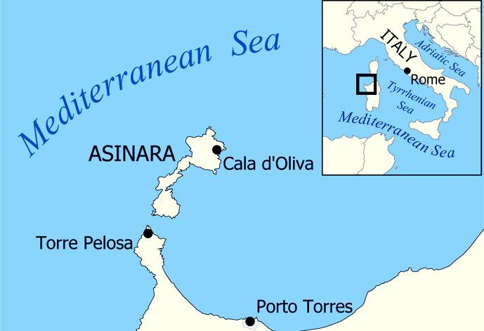 ilginc, deniz-kultur - talya Asinara Adası - Türkleri Yunanlara Teslim Etmeyen Yarbay Çomora