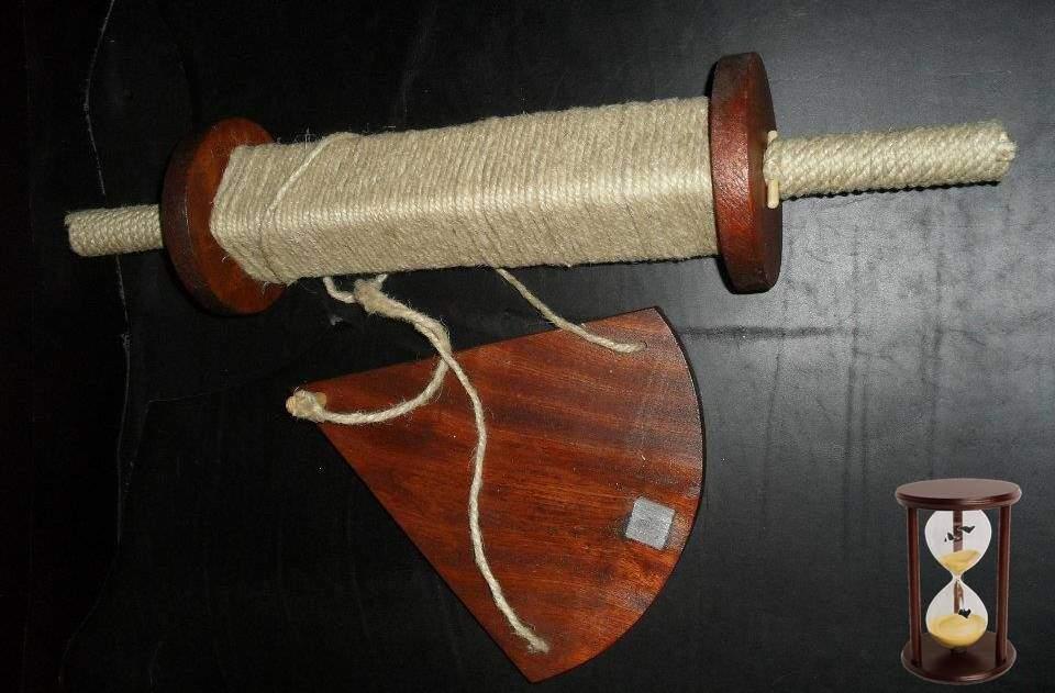 seyir, ilginc, deniz-kultur - Knot Deniz mili chip log Parakete - Gemide Hız Neden Knot İle İfade Edilir
