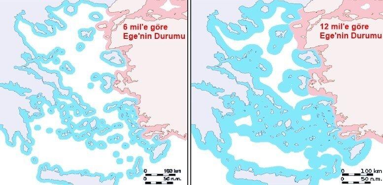 teknik-bilgiler - Ege Denizi sorunu - Ege Denizi Sorunu - Seyrüsefer Serbestesi Nedir