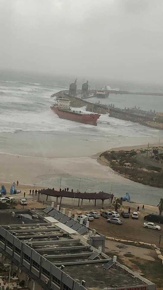 haberler, gundem - Zelek Star Ashdod incident 1 - Zelek Star Ashdod Limanında Karaya Oturdu