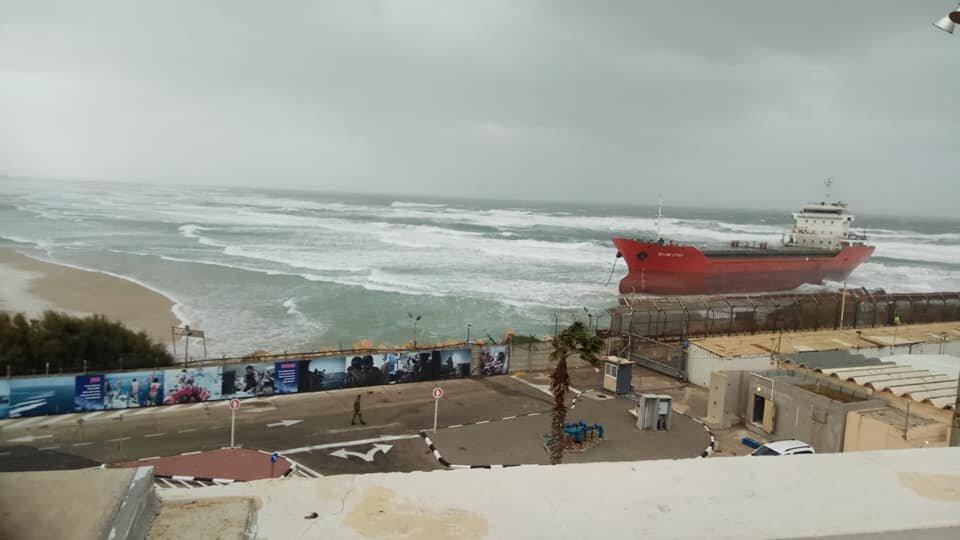 haberler, gundem - Zelek Star Ashdod incident 2 - Zelek Star Ashdod Limanında Karaya Oturdu