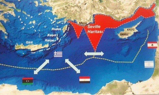 uncategorized - seville haritası - Akdeniz'de Yetki Alanı Mücadelesi