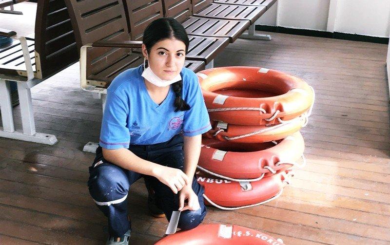 haberler, gundem - Sehir Hatlari kadin gemiciler goreve basladi - Şehir Hatlarında ilk kez kadın gemiciler görev almaya başladı