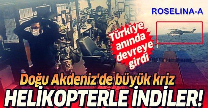 Türk Gemisine Baskın